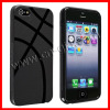 TPU Case for Apple iPhone 5, Black Basketball Shape