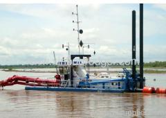 10 inch cutter suction dredger