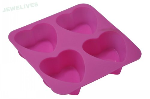 Non Stick 4 cups Silicone Baking Pans