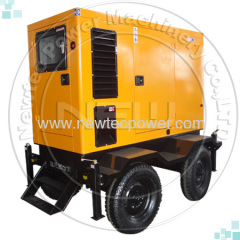 50kva cummins portable generator