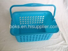 custom plastic household storage baskets