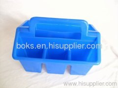 hot sale plastic shower caddy (4 cell) baskets
