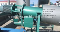 friction washing equipment waste plastic recycling