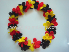 Germany Sports funs flower Garland