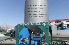 waste plastic recycling machine storage barrels