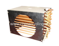 copper tube without fin evaporator