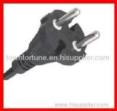 CEE 7 17 non-rewireable plug