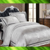 Jacquard silk bed sheet
