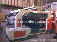 Four Colour Non-woven fabric Flexo Printing Machine