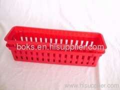 mini household storage plastic basket