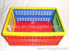 plastic durable folding basket
