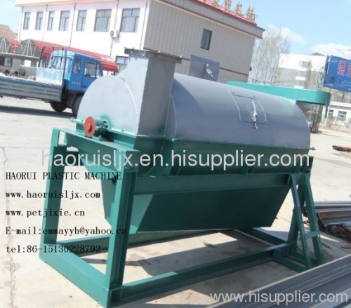 powerful dryer for waste plastic recycling machine