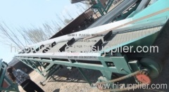 PET recycling conveyor belt