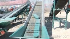 conveyor belt for PET materials recycling