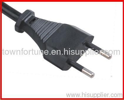 IMQ 10A 2 pin plug with cord