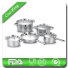 10Pcs Stainless Steel cookware Set