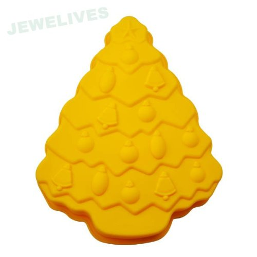 Silicone cake mould in Christmas Tree