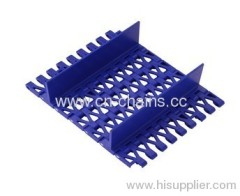 Plastic chain plate conveyor belt M2541 Baffle type POM