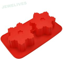 Fashion Snowflakes Silicone baking pans
