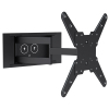 Full Motion in-wall VESA TV bracket