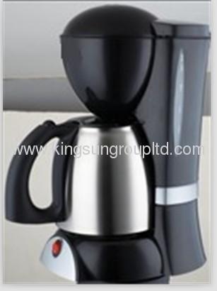 black electric drip coffee maker