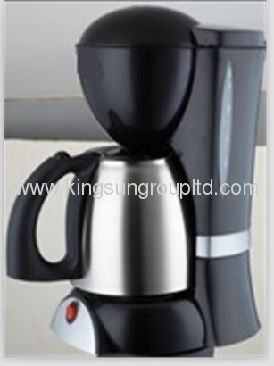 Anti drip coffee maker