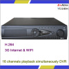 3G And Wifi H.264 16 channels playback simultaneously DVR CCTV Camera Securety Surveillance Camera