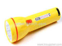 7 LED Lead-acid Battery Flashlight