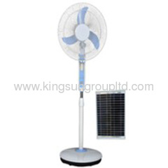 solar rechargeable cheap fans