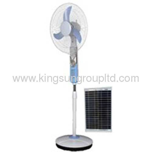 solar energy led fan