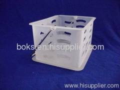 small plastic bath handle basket