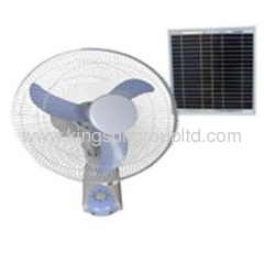 solar powered cooling fan