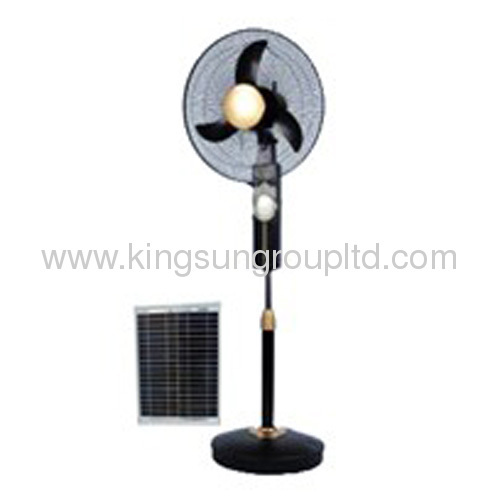 portable solar Stand fan