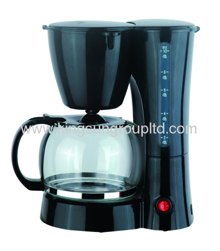 washable nylon filter /10-12 cups coffee maker