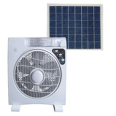 solar fan lighting system