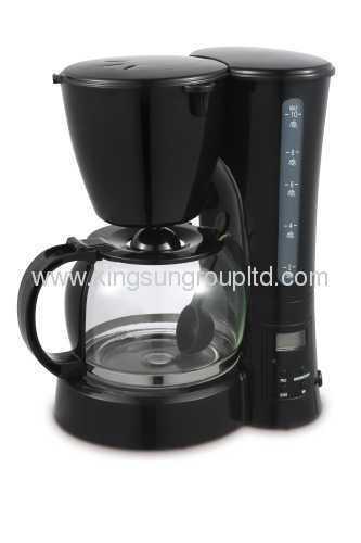 Anti-drip electric coffee maker