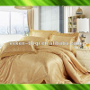 Jacquard cotton bed sheet