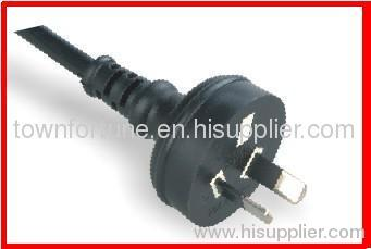SAA 2pin plug with cords