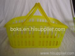 small plastic handle shower bath baskets