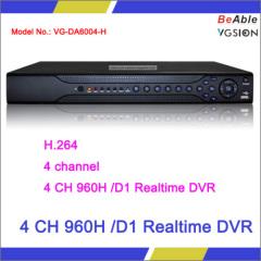 4 CH 960H /D1 Realtime DVR
