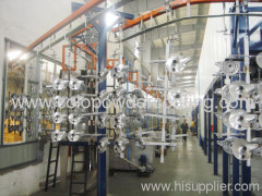 full automatic powder coating line