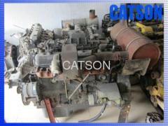 Komatsu PC350-6 6D108 engine assy