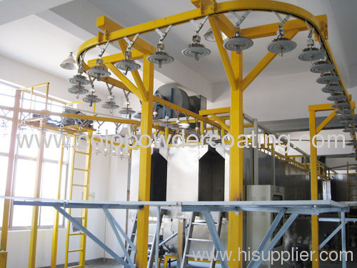 conveyor of automatic powder coating line