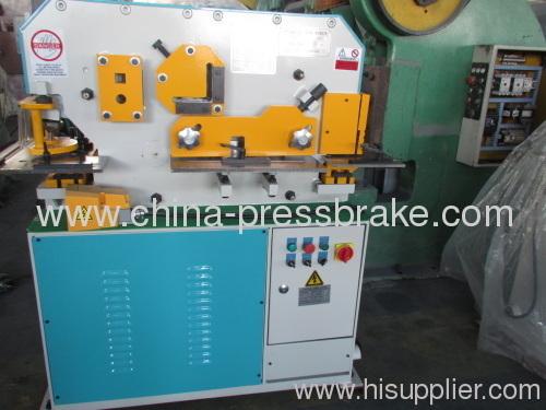 universal hydraulic iron-workers machinery