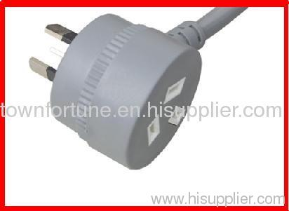 SAA piggyback plug with cords