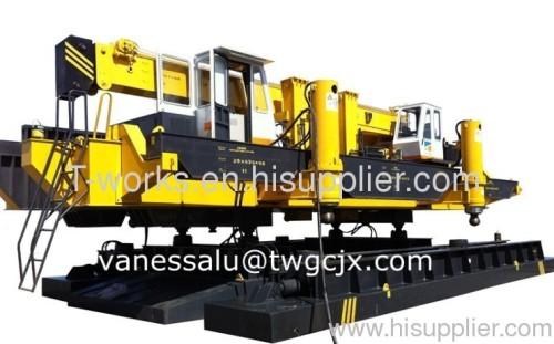 static equipment for foundation static piling machine from