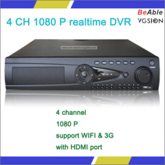 3G And Wifi 4 Channel 1080 P realtime H.264 ONVIF protocol Ptz Cctv DVR