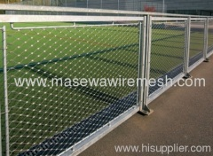 stainless steel rope mesh wire mesh fencing
