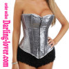 Fashion Silver Beads Wholesale Corsets