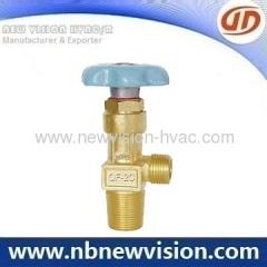 O2 Gas Cylinder Valves